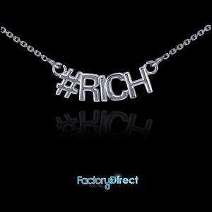 #RICH 14k White Gold Necklace