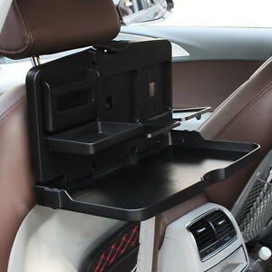 Image Is Loading Car Seat Back Food Tray Folding Dining Table