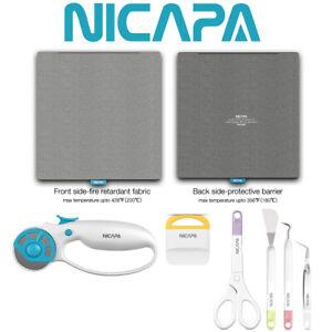 NICAPA Tools For Cricut Maker Explore Air,Easy Press Heat Press,Silhouette Cameo