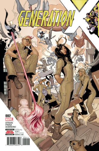 2017 Generation X #2 VF//NM Terry Dodson Cover