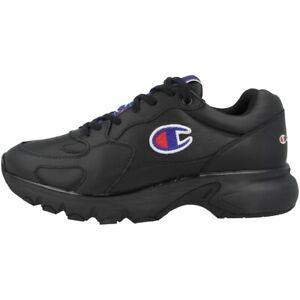 Détails sur Champion CWA 1 Cuir Low Cut Chaussures de Basketball Sport Baskets S20850 KK002