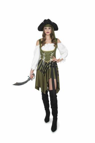 Pirate Des Caraïbes Femme Costume Swashbuckler Femmes Déguisement Enterrement Vie Jeune Fille Costume