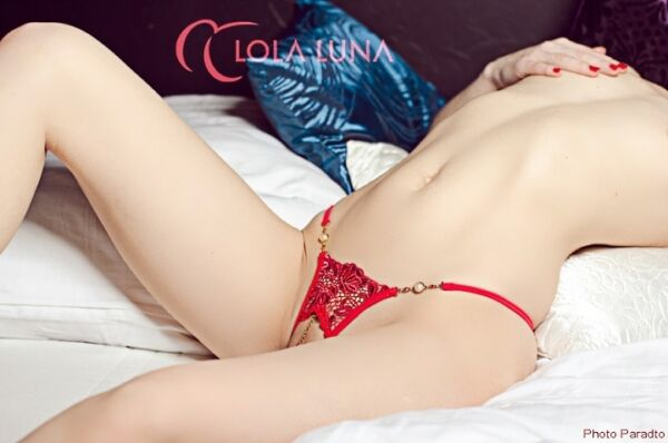LOLA LUNA String ROXANNE open S M L XL