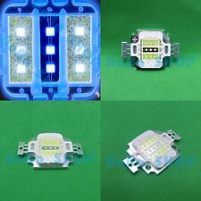 10W W+B+W Cold White Royal Blue Hybrid LED Lamp Light Spotlight for Aquarium