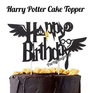 Harry-Potter-Birthday-Cake-Topper-New-Wings-Cake-Decoration-Party-Supplies