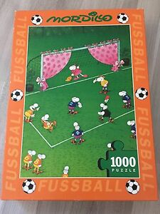 Details Zu 1000 Teile Puzzle Mordillo Guillermo Fussball Goal Keeper S Wife