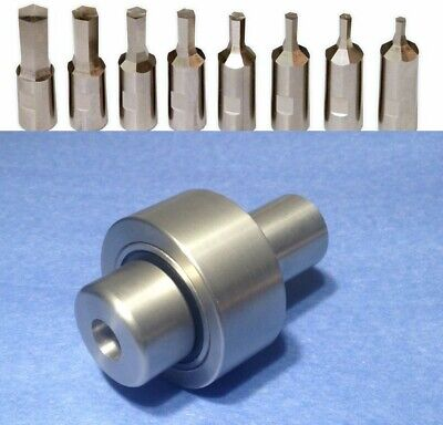 """5//16/"""" Hex Rotary Broach Punch Fits 1//2/"""" Shank Holder H0315B Made in USA"""