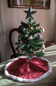NEW Green 18 inch Artificial Christmas Tree, with Topper ...