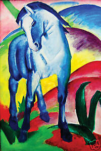 BLUE-HORSE-CANVAS-ART-PRINT-FRANZ-MARC-mounted-30-x-20-034