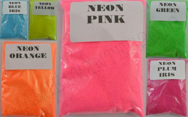 NEON GLITTER HIGH QUALITY WINE GLASS BOTTLE NAIL ART FLORISTRY CARD MAKING