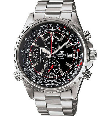 Casio EF527D-1AV, Edifice Watch, Chronograph, Stainless Steel Band, Date
