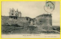 cpa Ecrite en 1905 BALLON (Sarthe) Le CHÂTEAU Forteresse Castle Schloss