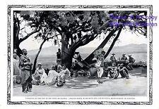 Expedition Afrika Kisamuli XL Kunstdruck 1914 Massai Europäer Kolonialzeit