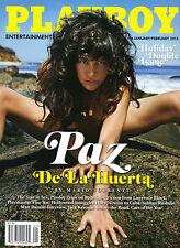 US-Playboy 01/Januar/02/Februar/2013  PAZ DE LA HUERTA & KARINA MARIE*