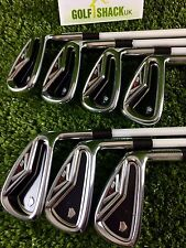 Taylormade R9 TP Irons 4-Pw with Matrix Ozik Program Stiff Graphite Shafts (1935
