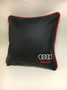 Faux-Leather-Audi-17-Cushion-Cover-With-Fibre-Filled-Inner-Brand-New