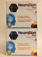 2 Neurobion Plus B Complex Vitamins 10 Drinkable Vials Ea - Vitaminas Complejo B