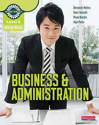 1 of 1 - NVQ/SVQ: Level 2: Business & Administration Candidate Handbook by Parras Majith…
