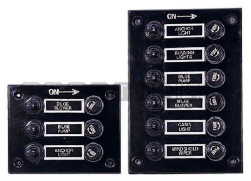 Schalttafel Schaltpanelle mit 3 3 mit oder 6 Schalter 60ca7e