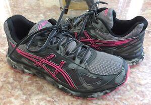 b23f909804bb Asics GEL-Scram 2 Women s Grey   Pink Running Shoes Size 7 T59AQ ...