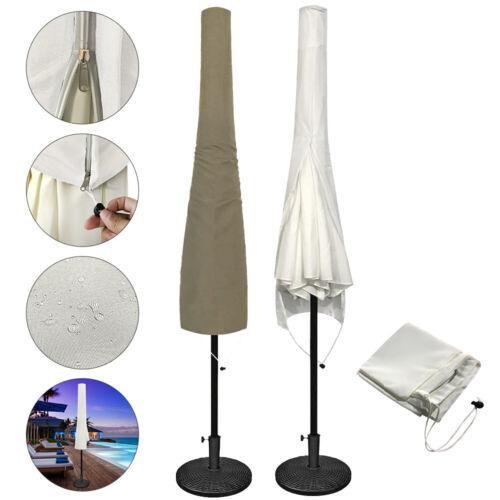 Sonnenschirmhülle Abdeckung Polyester Schutzhülle für 3m Ampelschirm Wasserfest