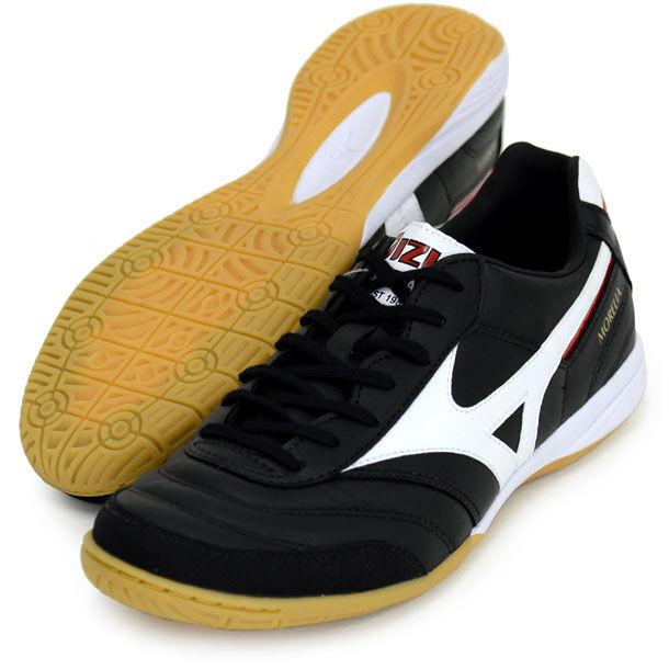 Mizuno Giappone Morelia in Indoor Calcio Futsal Sautope Q1GA1600 Nero