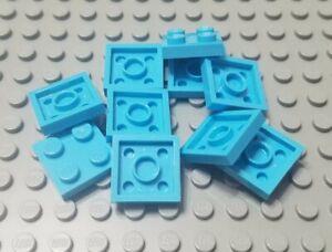 New LEGO Lot of 8 White 2x2 Corner Classic Creator Plates