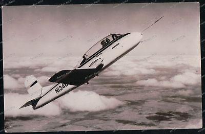 Transport & Verkehr Humorous Foto-ak-beech-73-jet-mentor-flugzeug-airplane-