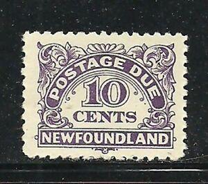 Album-Treasures-Newfoundland-Scott-J6-6c-Postage-Due-Mint-Hinged