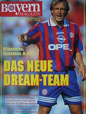 Programm 1995/96 FC Bayern München - Hamburger SV