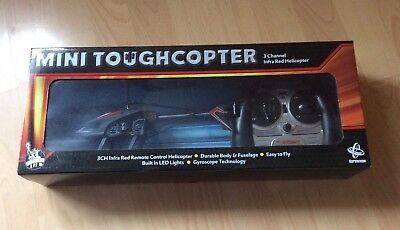 Intelligente Mini Toughcopter 3 Canali A Infrarossi Elicottero Radio Radiocomandato-mostra Il Titolo Originale Colori Fantasiosi