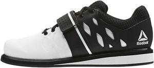 lila Eso auricular  Reebok Para Hombre Zapatos de Halterofilia levantador pr Blanco Botas  Gimnasia Entreno Culturismo | eBay
