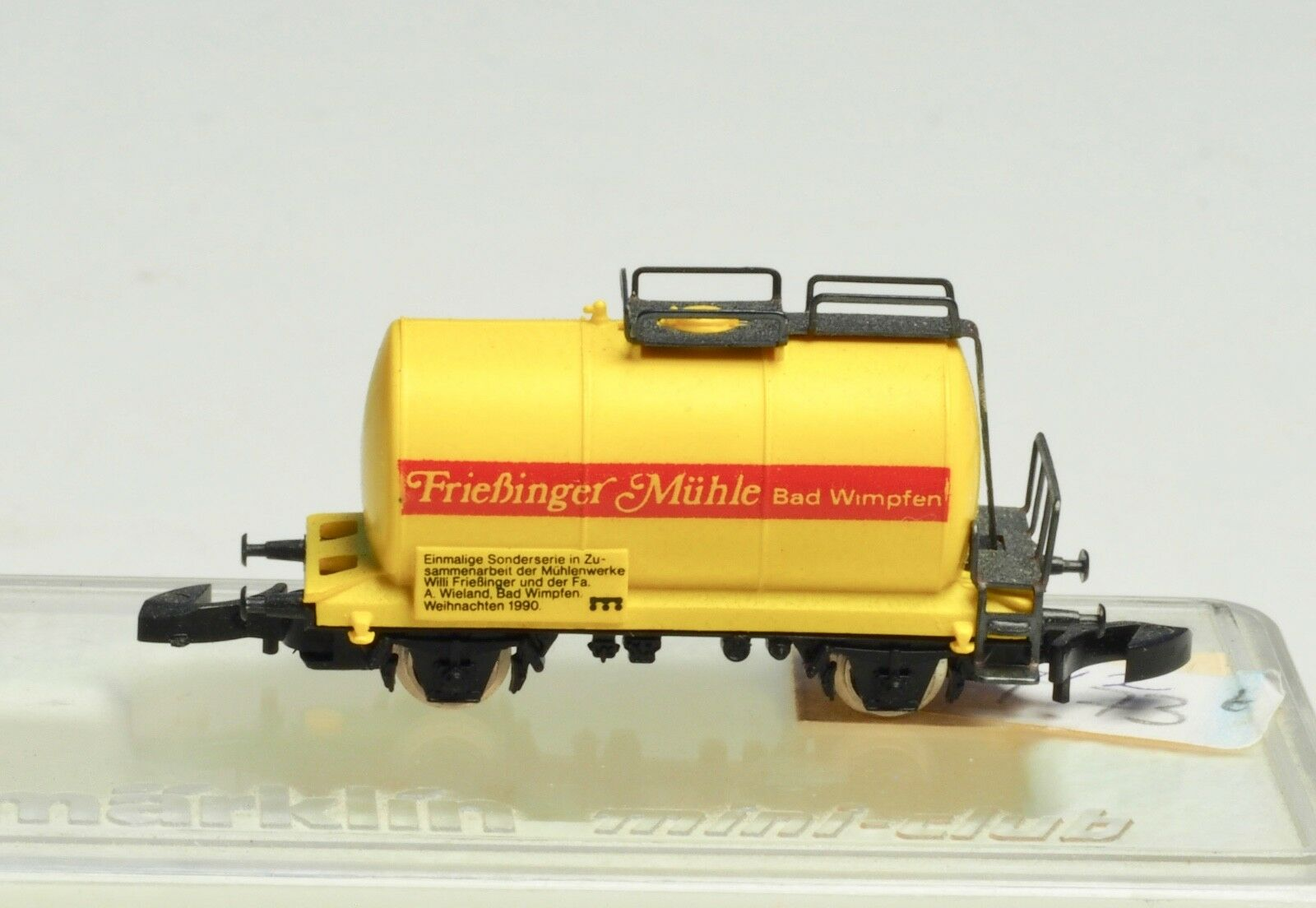 mini-club  Tank Car Frießinger Mühle Very limited Sp Ed Fressinger