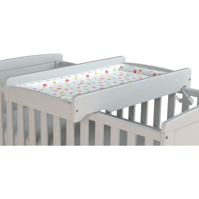 Ultimate Baby Cot Top Changer White