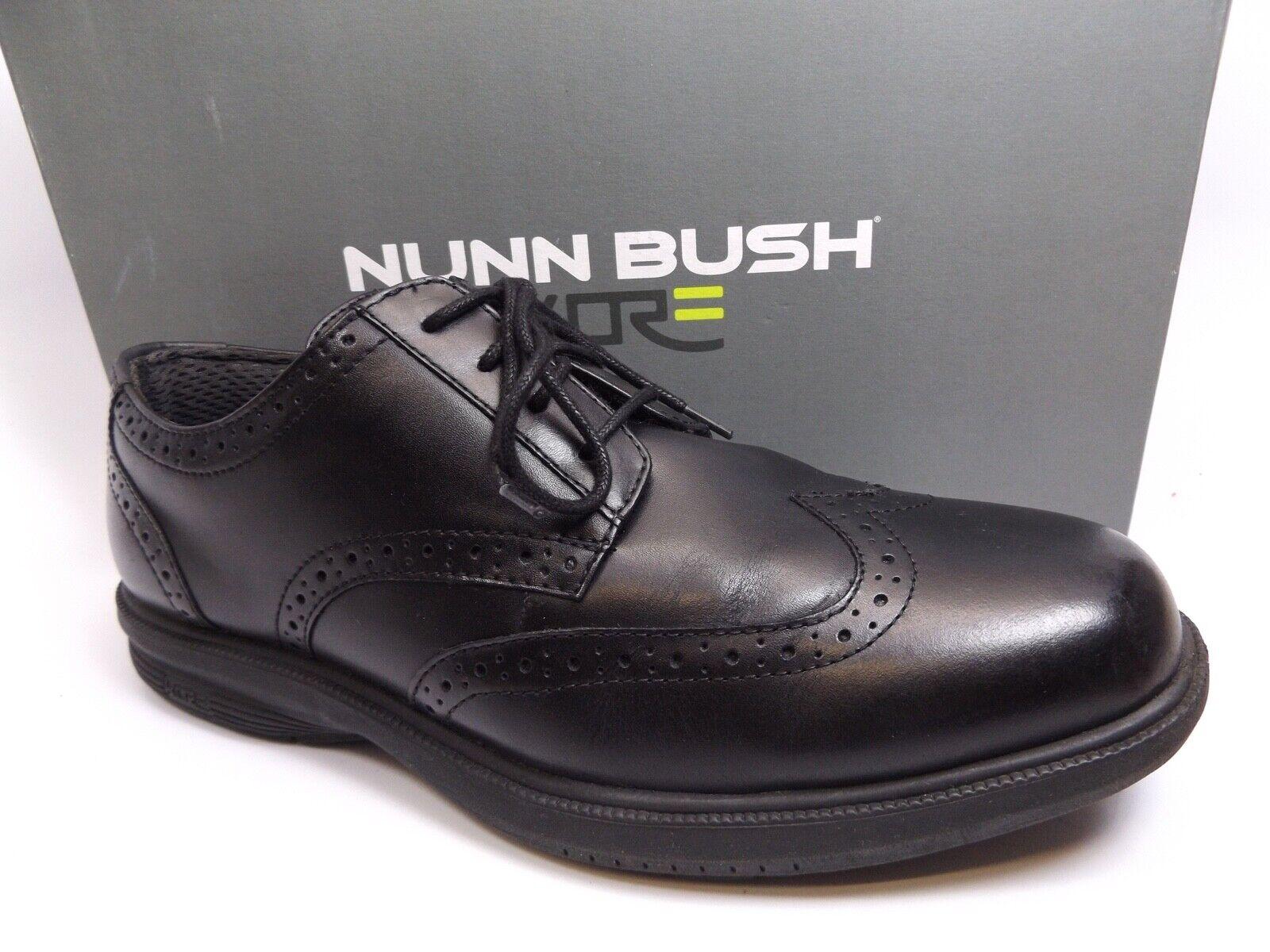 Nunn Bush, manzano negro, esmoquin de cuero, zapatos SZ 9.0 M, d1493