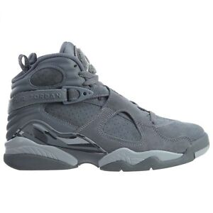 e5ad5f2d99adc9 Nike Air Jordan 8 Retro Size 8.5 Cool Grey Wolf Gray Suede 305381 ...