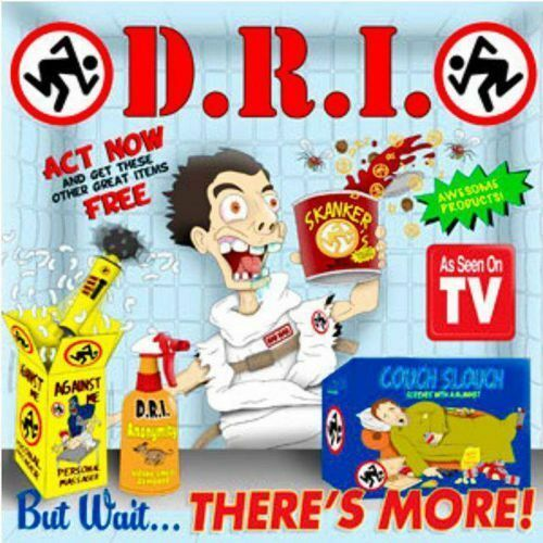 """D.R.I. - But Wait.... There's More 7"""" COLORED VINYL"""