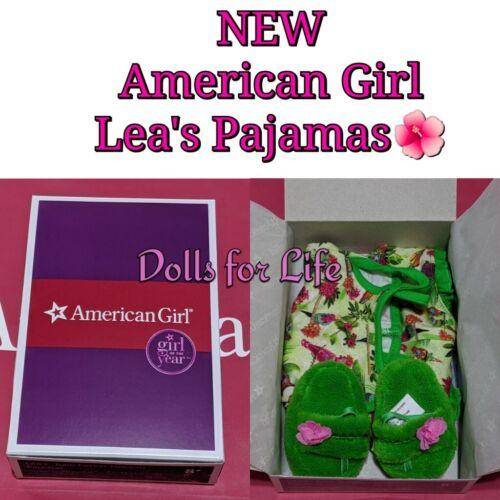 NEW AMERICAN GIRL LEA CLARK Rainforest Dreams PAJAMAS SET FOR DOLL