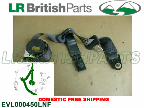 GENUINE LAND ROVER SEAT BELT 2ND ROW SEATS  DISCOVERY II  OEM EVL000450LNF USED