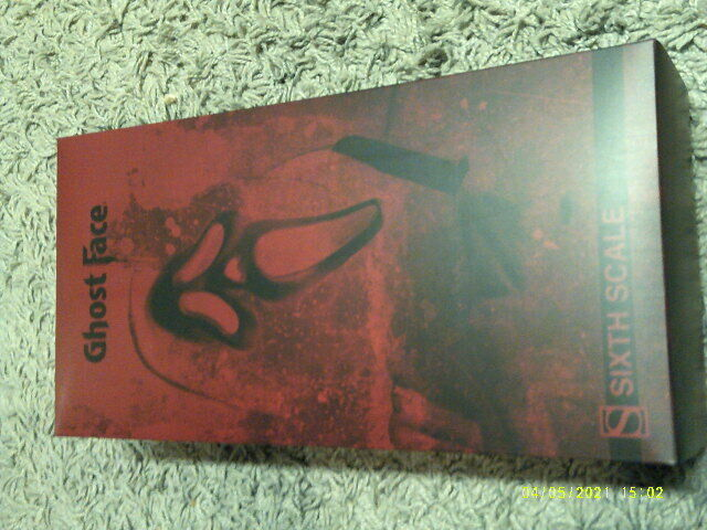 SIDESHOW SCREAM GHOST FACE MINT IN BOX / HOT TOYS / WES CRAVEN / FRIDAY THE 13TH on eBay thumbnail