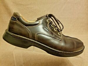 047cf5458b13 Ecco Light Shock Point Men s Casual Leather Brown Lace Up Oxford ...