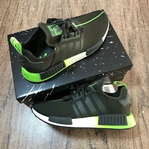 Adidas-NMD-R1-Star-Wars-Yoda-Men-s-Shoes-FW3935-Size-10-5-NEW-IN-BOX