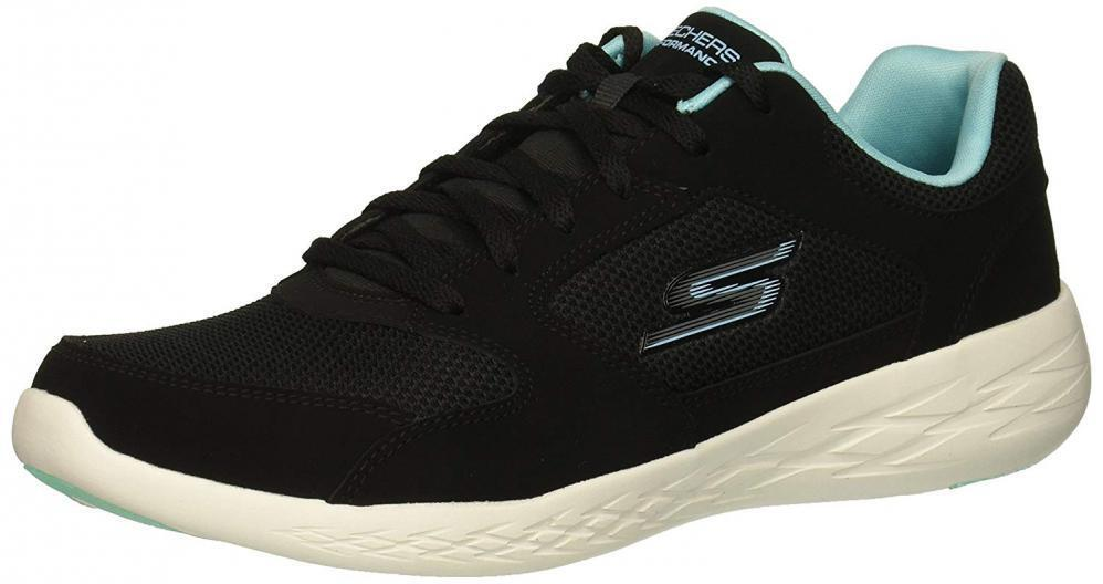 Skechers Wouomo Go Run 600 Reset scarpe da ginnastica Casual Lace Up Running Comfort Walking