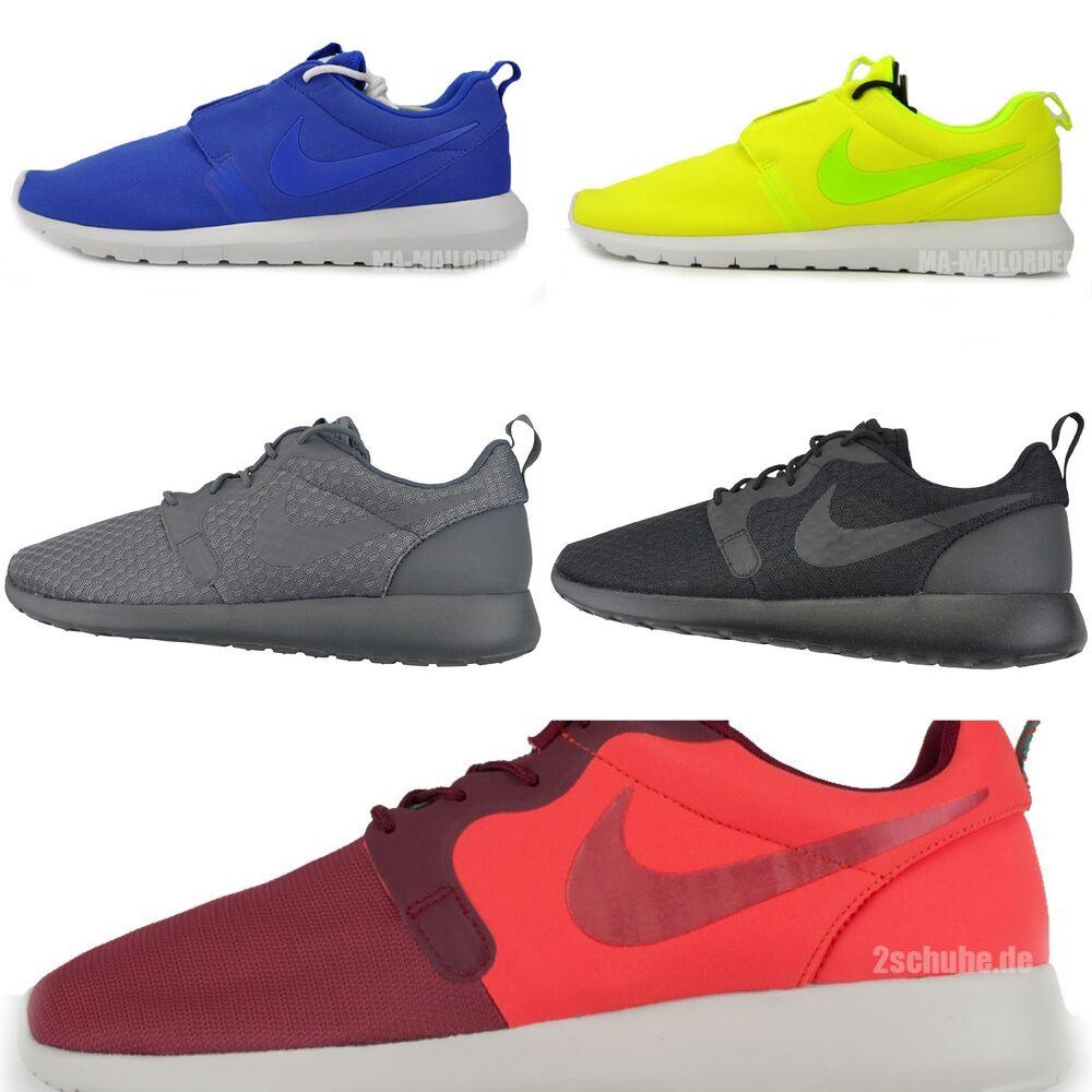 NIKE ROSHERUN ONE HYP/Presque comme neuf Sneaker Basket Sport sport Chaussure Textile- Chaussures de sport Sport pour hommes et femmes 102a79