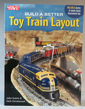 KALMBACH BUILD A BETTER TOY TRAIN LAYOUT train layout o gauge design book 108803