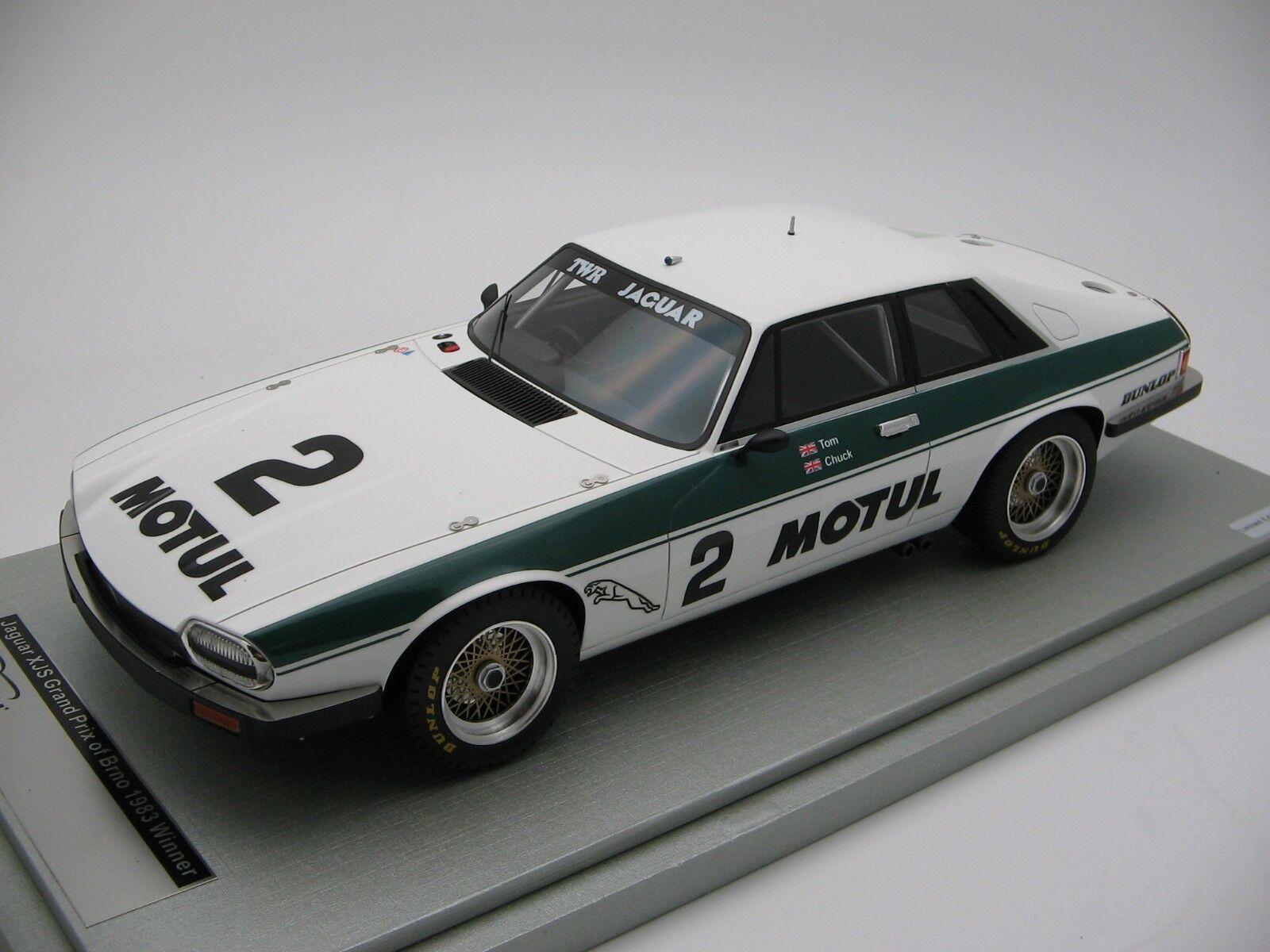 1/18 scale Tecnomodel Jaguar XJ-S Grand Prix di Brno 1983 - TM18-107C