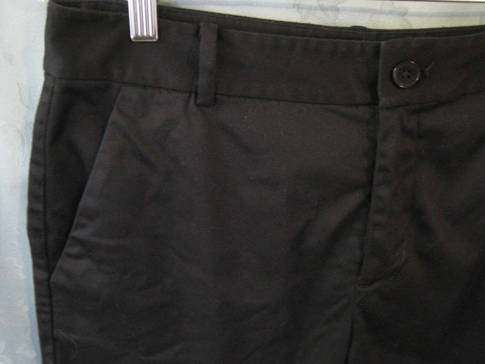 Lauren Ralph Lauren Shorts Size 8 Black Tailored … - image 2