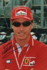 "Eddie Irvine ""Ferrari"" Autogramm signed 20x30 cm Bild"