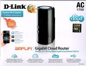 Details about D-link DIR-868L 802 11 1300Mbps AC1750 WiFi Wireless Dual  Band Gigabit Router