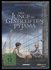 DVD DER JUNGE IM GESTREIFTEN PYJAMA - HOLOCAUST mit Kinderaugen *** NEU ***